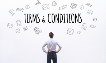 The importance of terms & conditions